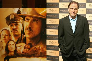 Oliver Stone at the Japan promotion of &quot;World Trade Center&quot;.